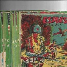 Tebeos: S.C.I. CONTRAESPIONAJE AMERICANO AÑO 1954 COLECCIÓN COMPLETA SON 26 TEBEOS ORIGINALES NUNCA VISTA. Lote 147229250