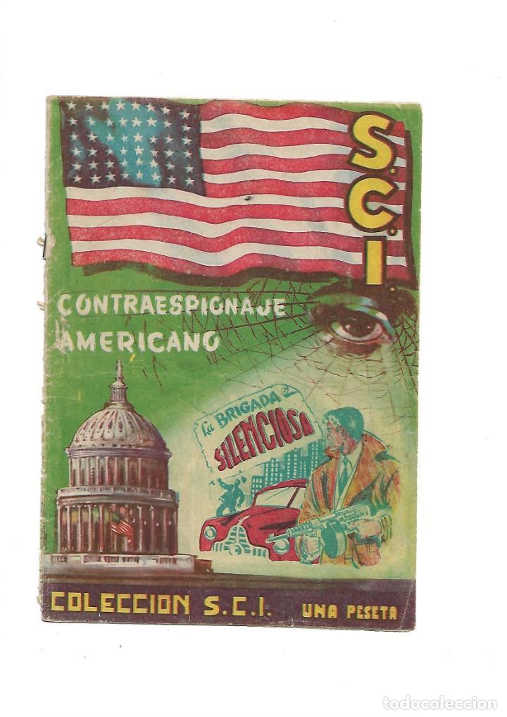 Tebeos: S.C.I. Contraespionaje Americano Año 1954 Colección Completa son 26 Tebeos Originales nunca vista - Foto 2 - 147229250