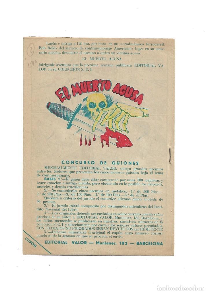 Tebeos: S.C.I. Contraespionaje Americano Año 1954 Colección Completa son 26 Tebeos Originales nunca vista - Foto 5 - 147229250