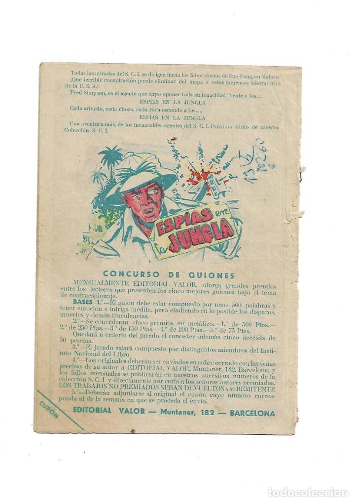 Tebeos: S.C.I. Contraespionaje Americano Año 1954 Colección Completa son 26 Tebeos Originales nunca vista - Foto 3 - 147229250