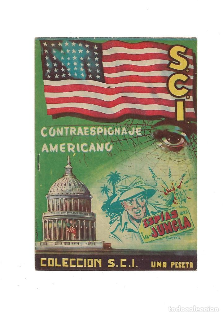 Tebeos: S.C.I. Contraespionaje Americano Año 1954 Colección Completa son 26 Tebeos Originales nunca vista - Foto 4 - 147229250
