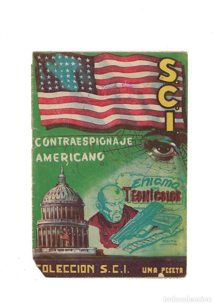 Tebeos: S.C.I. Contraespionaje Americano Año 1954 Colección Completa son 26 Tebeos Originales nunca vista - Foto 8 - 147229250