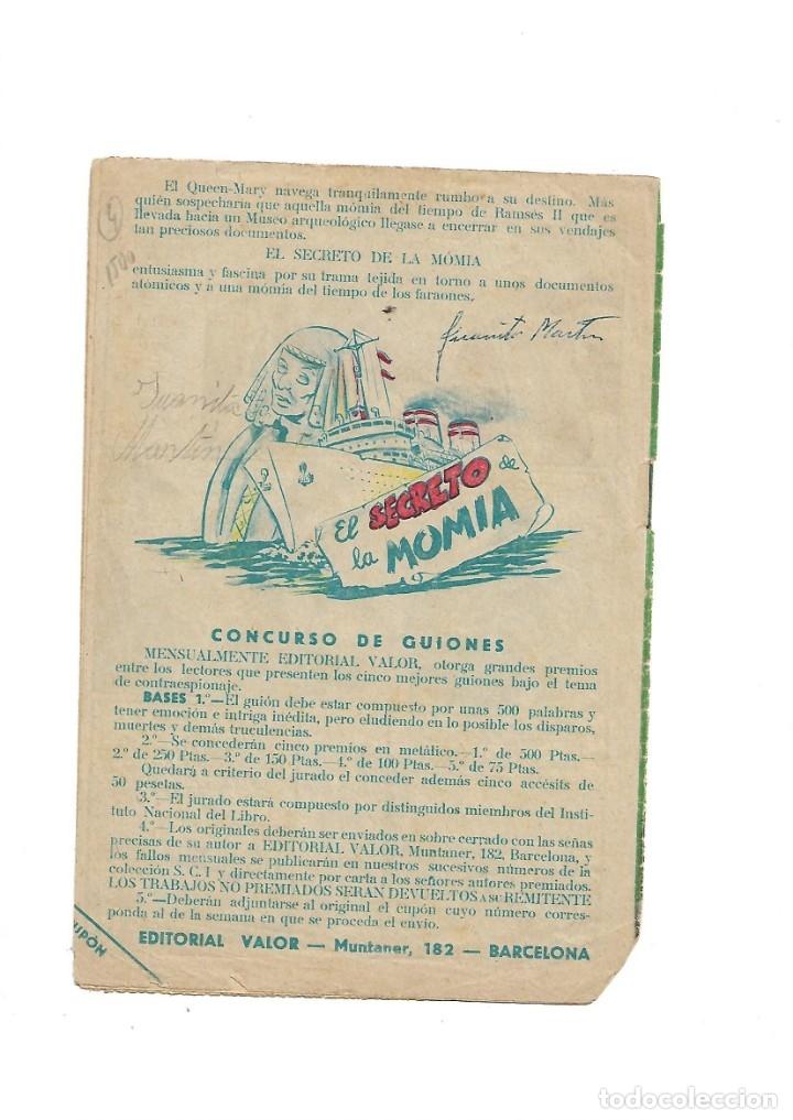 Tebeos: S.C.I. Contraespionaje Americano Año 1954 Colección Completa son 26 Tebeos Originales nunca vista - Foto 9 - 147229250