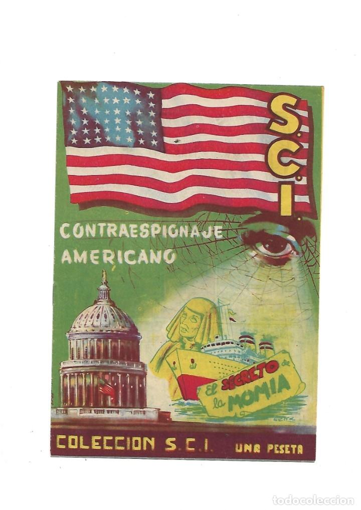 Tebeos: S.C.I. Contraespionaje Americano Año 1954 Colección Completa son 26 Tebeos Originales nunca vista - Foto 10 - 147229250