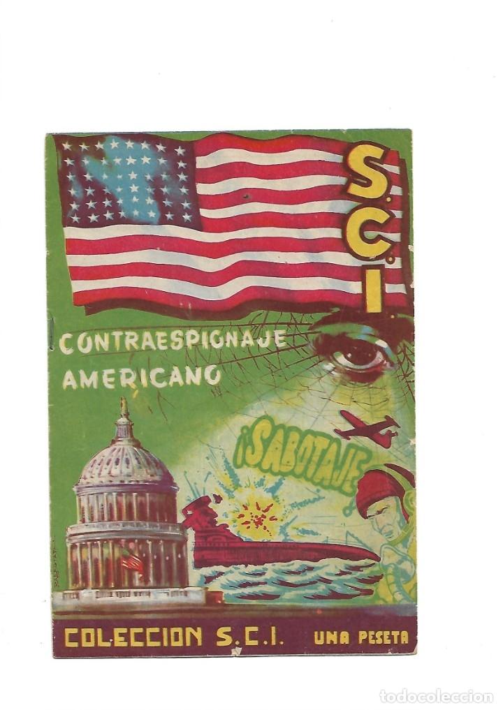 Tebeos: S.C.I. Contraespionaje Americano Año 1954 Colección Completa son 26 Tebeos Originales nunca vista - Foto 12 - 147229250