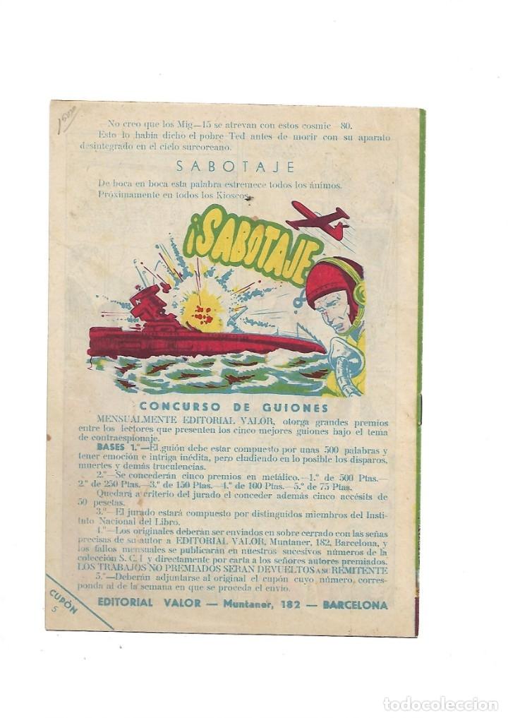 Tebeos: S.C.I. Contraespionaje Americano Año 1954 Colección Completa son 26 Tebeos Originales nunca vista - Foto 11 - 147229250