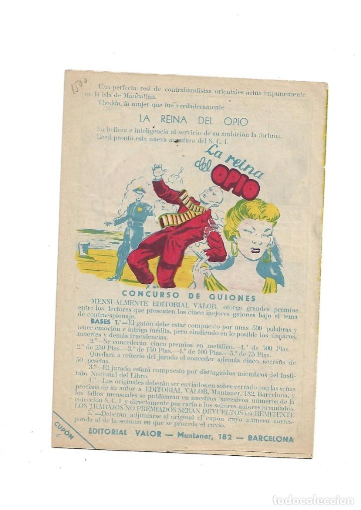 Tebeos: S.C.I. Contraespionaje Americano Año 1954 Colección Completa son 26 Tebeos Originales nunca vista - Foto 13 - 147229250
