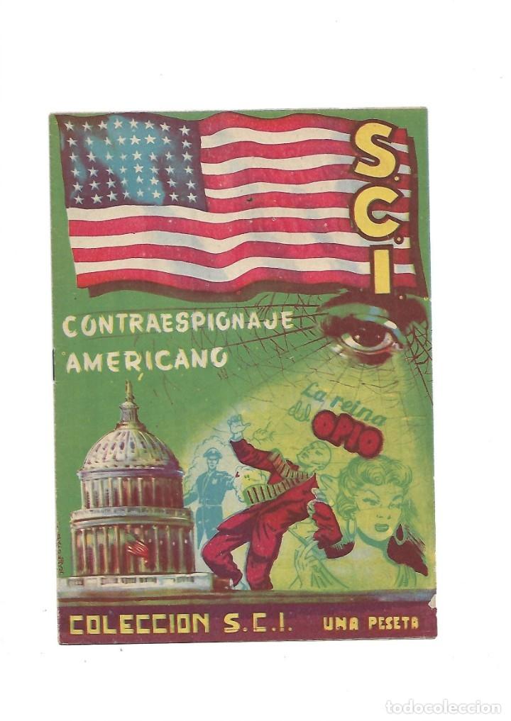 Tebeos: S.C.I. Contraespionaje Americano Año 1954 Colección Completa son 26 Tebeos Originales nunca vista - Foto 14 - 147229250