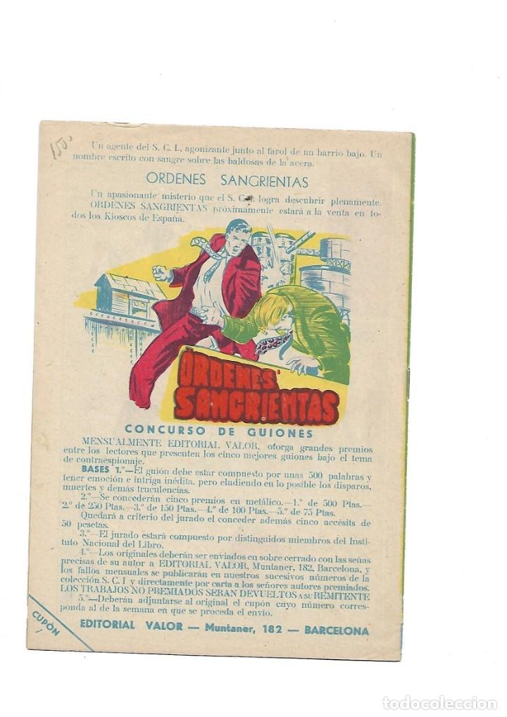 Tebeos: S.C.I. Contraespionaje Americano Año 1954 Colección Completa son 26 Tebeos Originales nunca vista - Foto 15 - 147229250