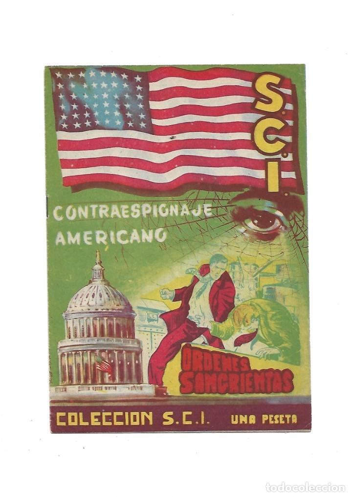 Tebeos: S.C.I. Contraespionaje Americano Año 1954 Colección Completa son 26 Tebeos Originales nunca vista - Foto 16 - 147229250