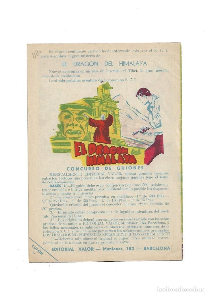 Tebeos: S.C.I. Contraespionaje Americano Año 1954 Colección Completa son 26 Tebeos Originales nunca vista - Foto 17 - 147229250