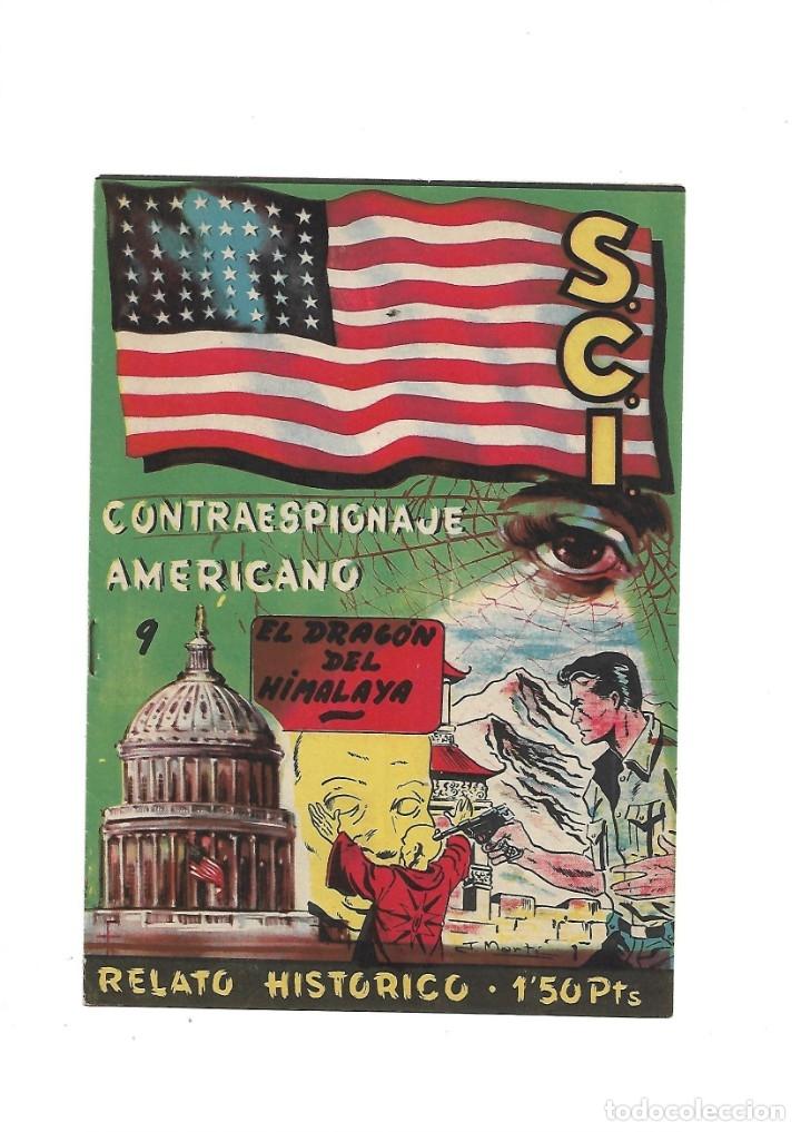 Tebeos: S.C.I. Contraespionaje Americano Año 1954 Colección Completa son 26 Tebeos Originales nunca vista - Foto 18 - 147229250
