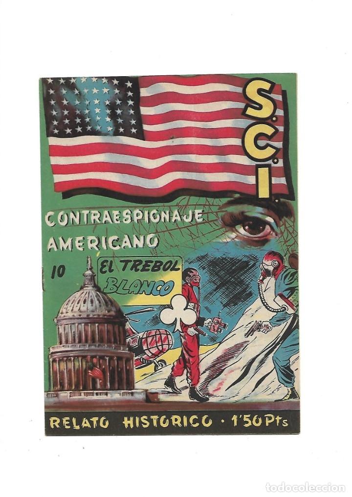 Tebeos: S.C.I. Contraespionaje Americano Año 1954 Colección Completa son 26 Tebeos Originales nunca vista - Foto 20 - 147229250