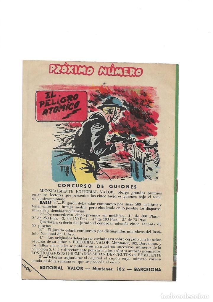 Tebeos: S.C.I. Contraespionaje Americano Año 1954 Colección Completa son 26 Tebeos Originales nunca vista - Foto 21 - 147229250