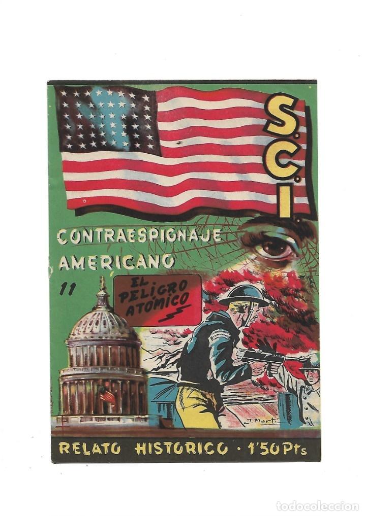 Tebeos: S.C.I. Contraespionaje Americano Año 1954 Colección Completa son 26 Tebeos Originales nunca vista - Foto 22 - 147229250