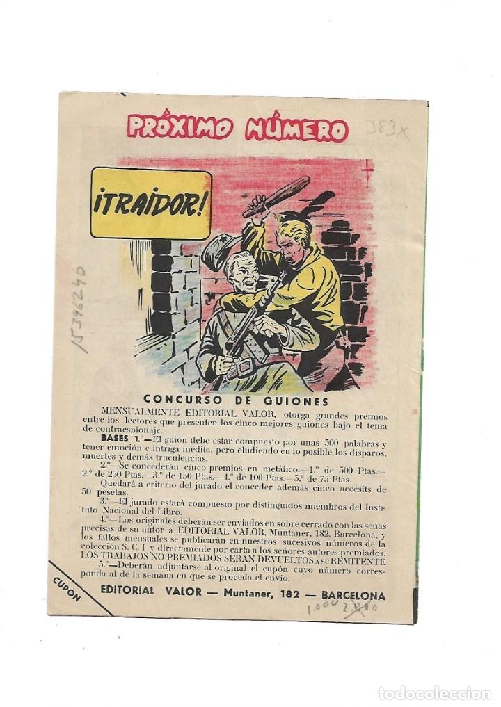 Tebeos: S.C.I. Contraespionaje Americano Año 1954 Colección Completa son 26 Tebeos Originales nunca vista - Foto 23 - 147229250