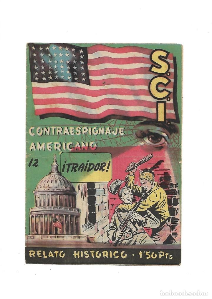 Tebeos: S.C.I. Contraespionaje Americano Año 1954 Colección Completa son 26 Tebeos Originales nunca vista - Foto 24 - 147229250