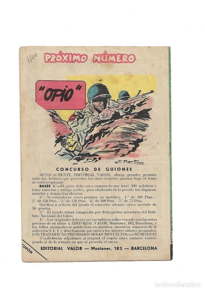 Tebeos: S.C.I. Contraespionaje Americano Año 1954 Colección Completa son 26 Tebeos Originales nunca vista - Foto 25 - 147229250