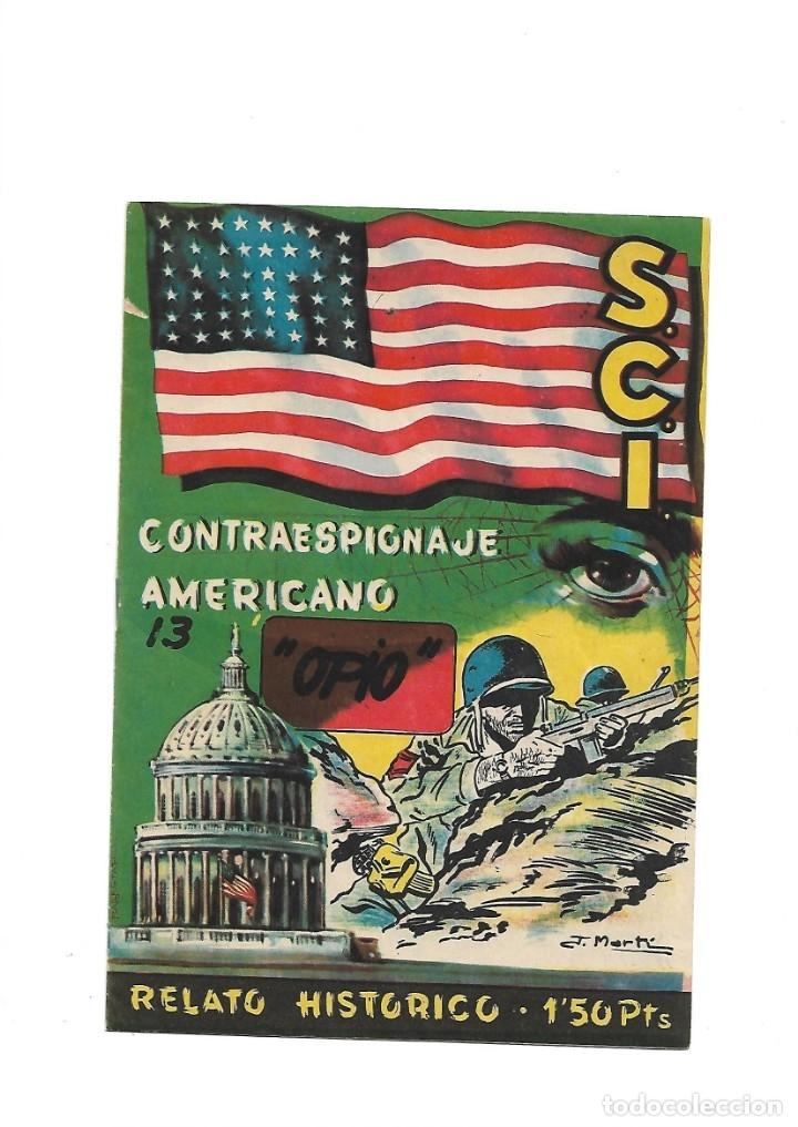 Tebeos: S.C.I. Contraespionaje Americano Año 1954 Colección Completa son 26 Tebeos Originales nunca vista - Foto 26 - 147229250