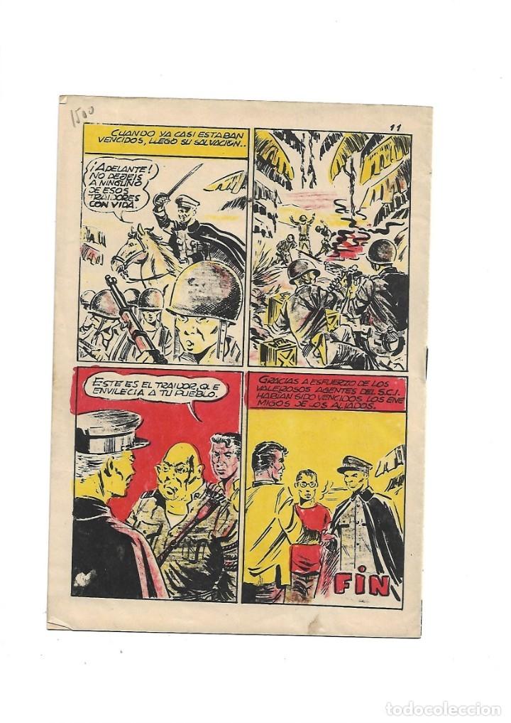 Tebeos: S.C.I. Contraespionaje Americano Año 1954 Colección Completa son 26 Tebeos Originales nunca vista - Foto 27 - 147229250