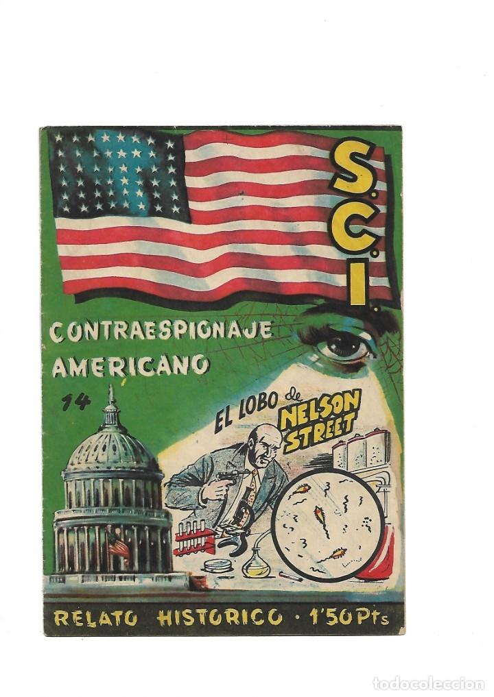 Tebeos: S.C.I. Contraespionaje Americano Año 1954 Colección Completa son 26 Tebeos Originales nunca vista - Foto 28 - 147229250