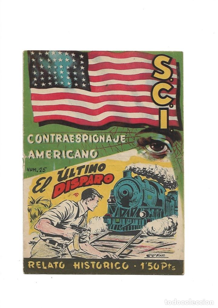 Tebeos: S.C.I. Contraespionaje Americano Año 1954 Colección Completa son 26 Tebeos Originales nunca vista - Foto 30 - 147229250