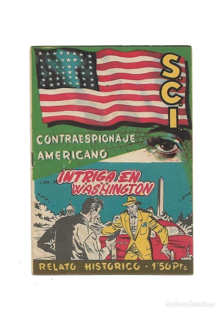 Tebeos: S.C.I. Contraespionaje Americano Año 1954 Colección Completa son 26 Tebeos Originales nunca vista - Foto 32 - 147229250