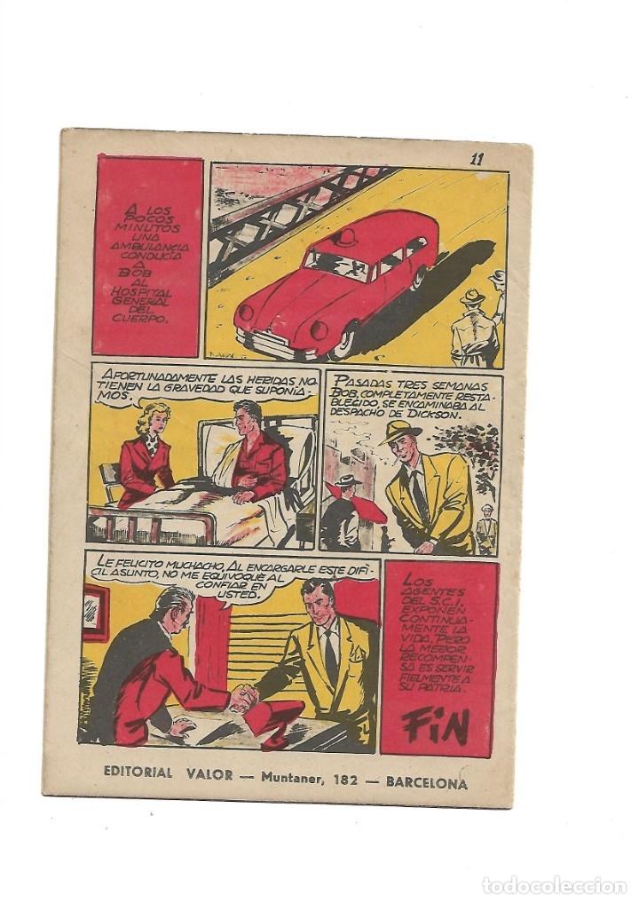 Tebeos: S.C.I. Contraespionaje Americano Año 1954 Colección Completa son 26 Tebeos Originales nunca vista - Foto 33 - 147229250