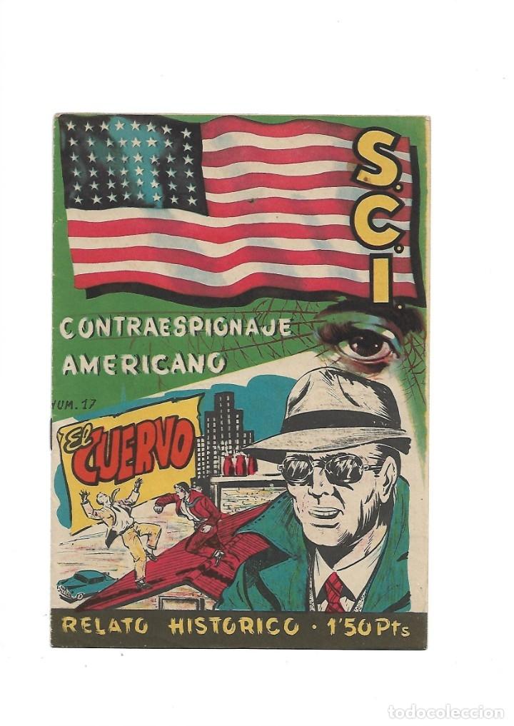 Tebeos: S.C.I. Contraespionaje Americano Año 1954 Colección Completa son 26 Tebeos Originales nunca vista - Foto 34 - 147229250