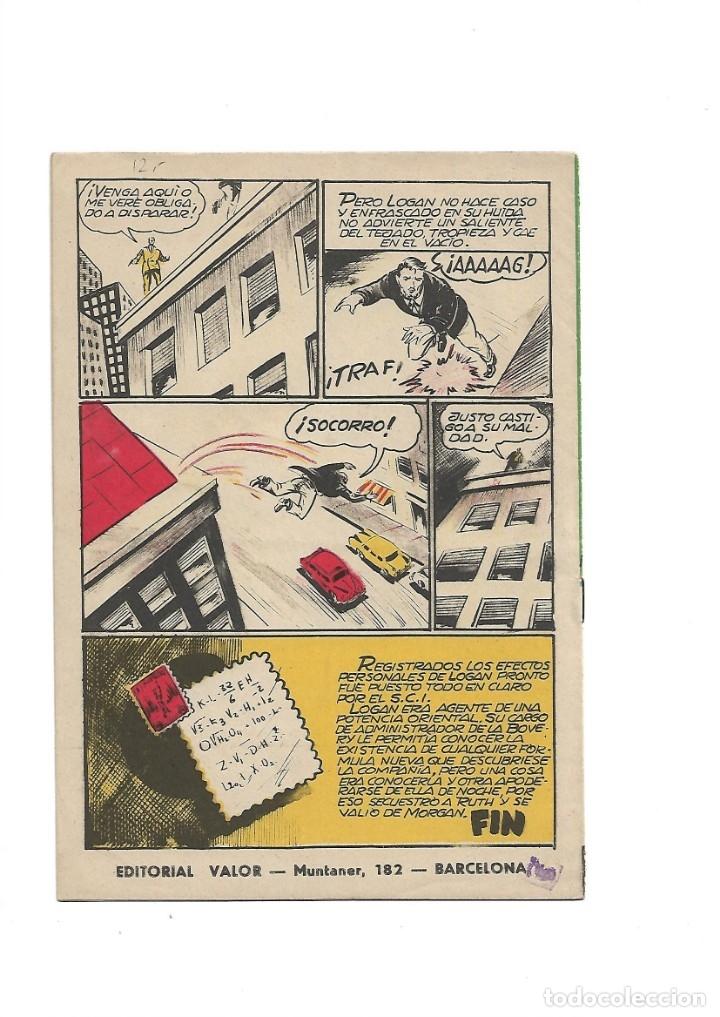 Tebeos: S.C.I. Contraespionaje Americano Año 1954 Colección Completa son 26 Tebeos Originales nunca vista - Foto 35 - 147229250