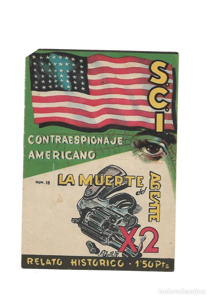 Tebeos: S.C.I. Contraespionaje Americano Año 1954 Colección Completa son 26 Tebeos Originales nunca vista - Foto 36 - 147229250