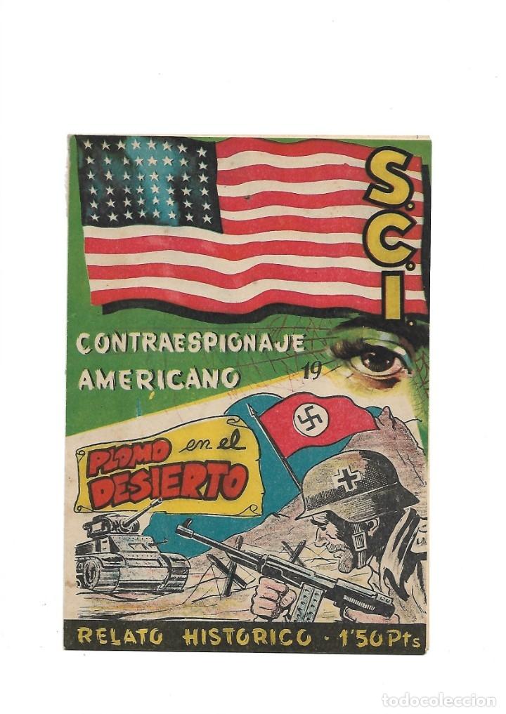 Tebeos: S.C.I. Contraespionaje Americano Año 1954 Colección Completa son 26 Tebeos Originales nunca vista - Foto 38 - 147229250
