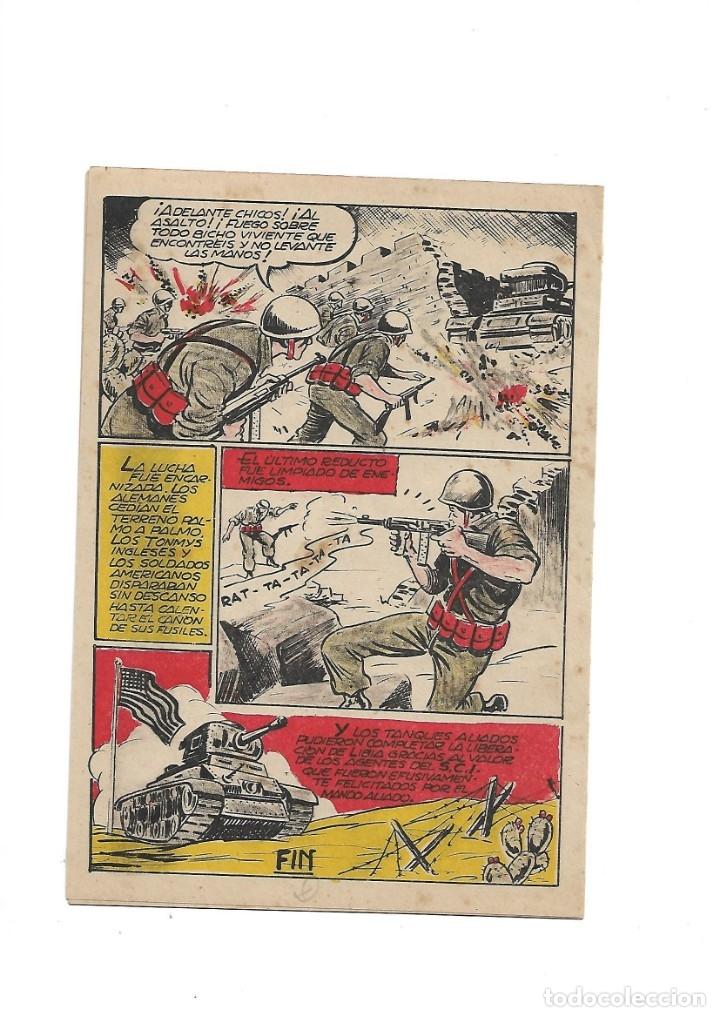 Tebeos: S.C.I. Contraespionaje Americano Año 1954 Colección Completa son 26 Tebeos Originales nunca vista - Foto 39 - 147229250
