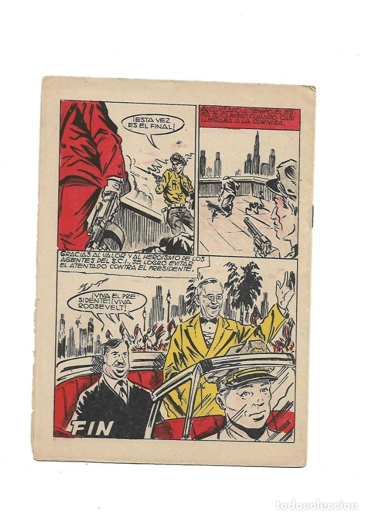 Tebeos: S.C.I. Contraespionaje Americano Año 1954 Colección Completa son 26 Tebeos Originales nunca vista - Foto 41 - 147229250