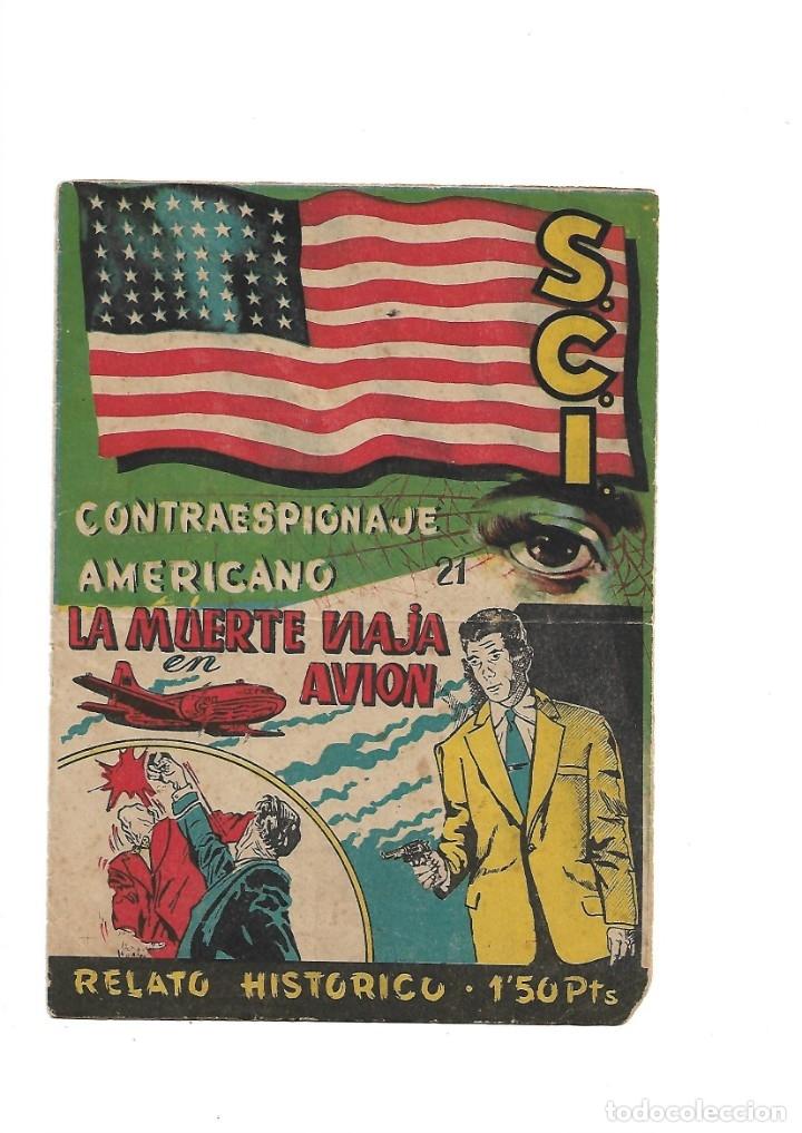 Tebeos: S.C.I. Contraespionaje Americano Año 1954 Colección Completa son 26 Tebeos Originales nunca vista - Foto 42 - 147229250