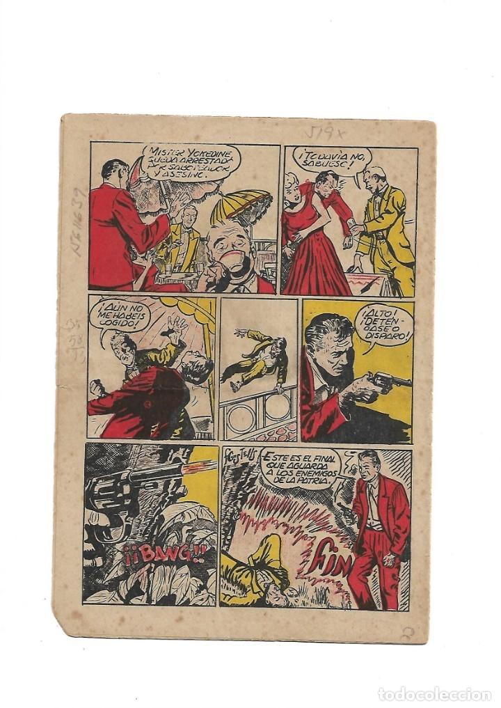 Tebeos: S.C.I. Contraespionaje Americano Año 1954 Colección Completa son 26 Tebeos Originales nunca vista - Foto 43 - 147229250