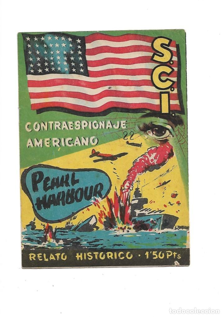Tebeos: S.C.I. Contraespionaje Americano Año 1954 Colección Completa son 26 Tebeos Originales nunca vista - Foto 44 - 147229250