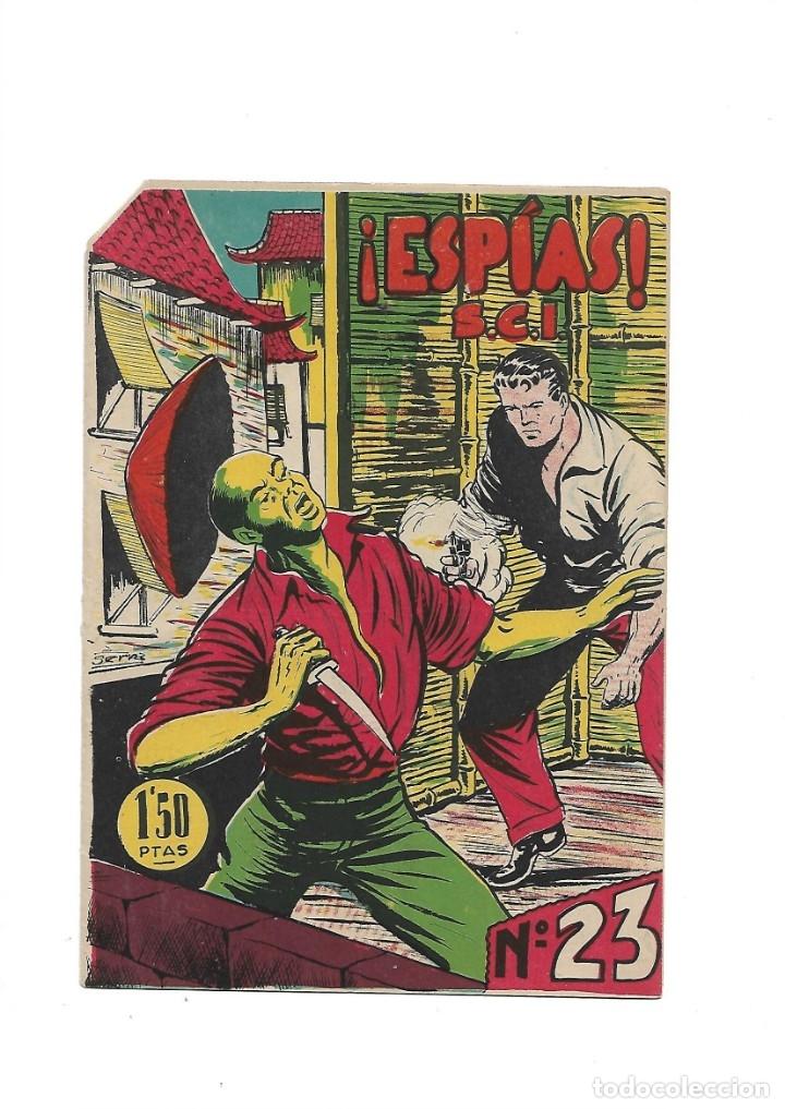 Tebeos: S.C.I. Contraespionaje Americano Año 1954 Colección Completa son 26 Tebeos Originales nunca vista - Foto 46 - 147229250