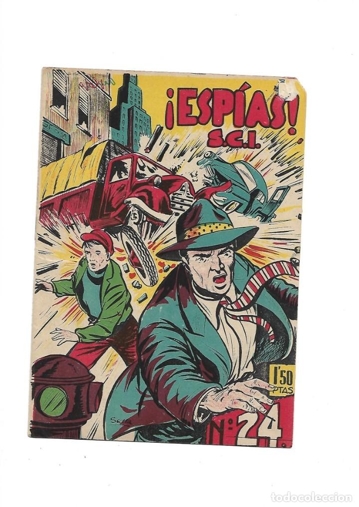 Tebeos: S.C.I. Contraespionaje Americano Año 1954 Colección Completa son 26 Tebeos Originales nunca vista - Foto 48 - 147229250