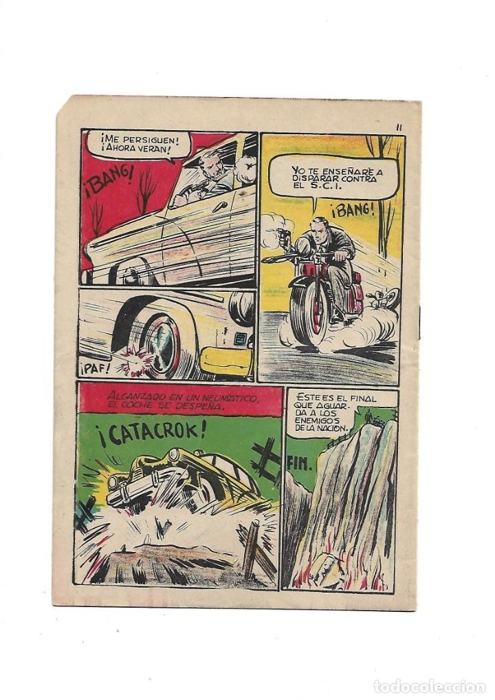 Tebeos: S.C.I. Contraespionaje Americano Año 1954 Colección Completa son 26 Tebeos Originales nunca vista - Foto 49 - 147229250