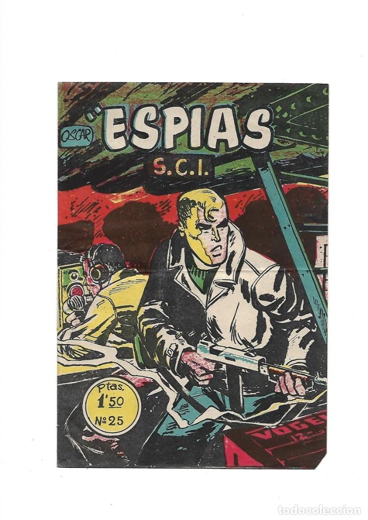 Tebeos: S.C.I. Contraespionaje Americano Año 1954 Colección Completa son 26 Tebeos Originales nunca vista - Foto 50 - 147229250
