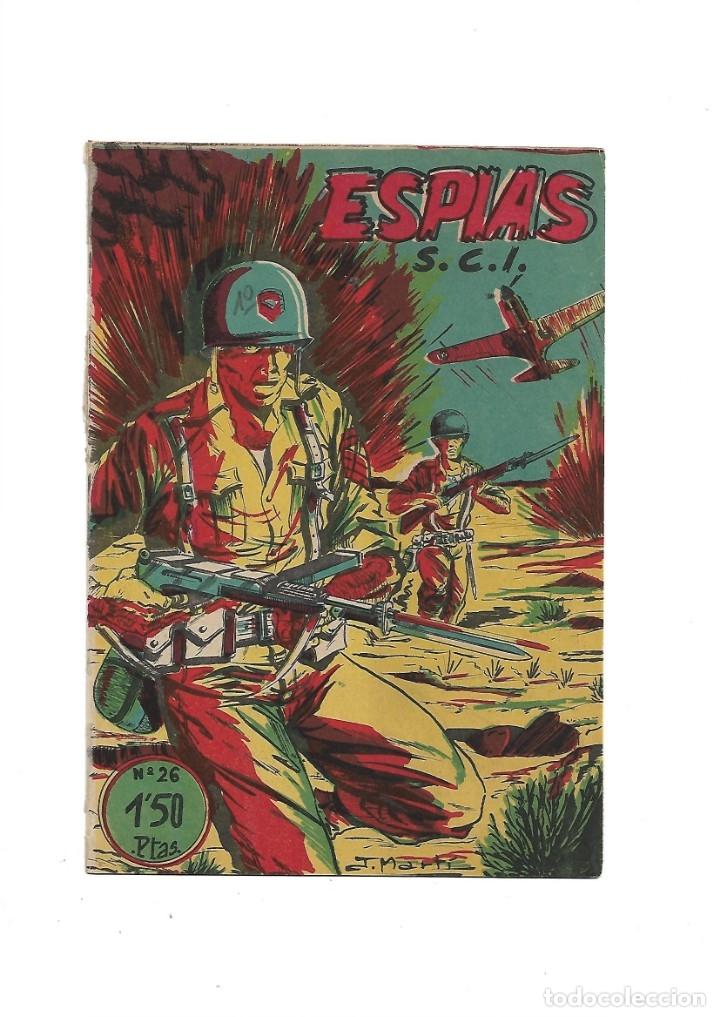 Tebeos: S.C.I. Contraespionaje Americano Año 1954 Colección Completa son 26 Tebeos Originales nunca vista - Foto 52 - 147229250