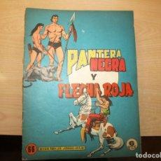 Tebeos: PANTERA NEGRA Y FLECHA ROJA - FORMATO REVISTA. COMPLETA - 32 NÚMEROS. - - MAGA -. Lote 147239114