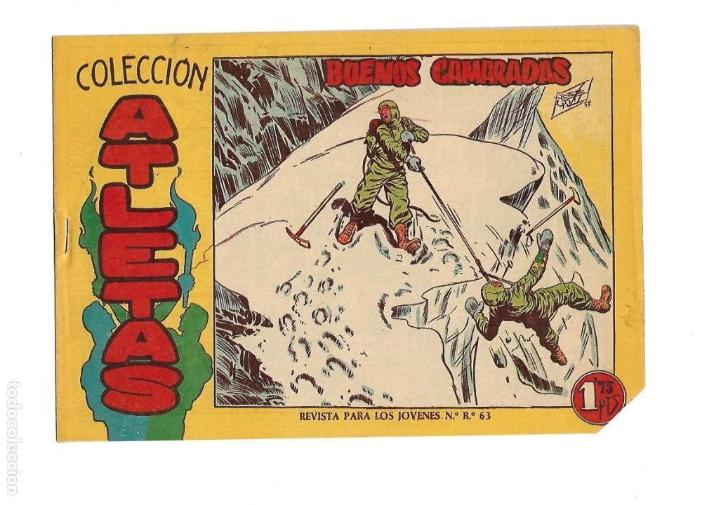 Tebeos: Atletas, Año 1958 Colección Completa son 7 Tebeos Originales hay 4 tebeos sin abrir Dibujos J. Ortiz - Foto 14 - 147317690