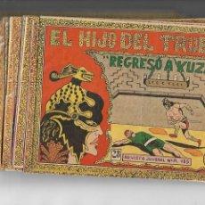 Tebeos: EL HIJO DEL TRUENO AÑO 1964 COLECCIÓN COMPLETA SON 28 TEBEOS ORIGINALES NUNCA A SIDO VISTA COMPLETA. Lote 147323914