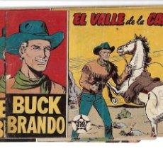 Tebeos: BUCK BRANDO, AÑO 1959. COLECCIÓN COMPLETA SON 4 TEBEOS Y SON ORIGINALES EDITORIAL MATEU. Lote 147370842