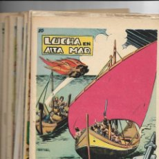 Tebeos: THORIK EL INVENCIBLE, AÑO 1959 COLECCIÓN COMPLETA SON 20. TEBEOS ORIGINALES. DIBUJANTE MARTINEZ.. Lote 147552990