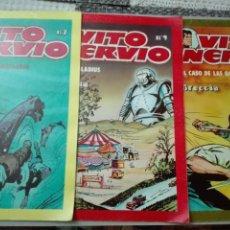 Tebeos: LOTES TEBEOS VITO NERVIO NÚMERO 7 9 Y 10 EDITORIAL VILAN. Lote 147808106