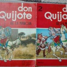 Tebeos: LOTES DON QUIJOTE DE LA MANCHA EDICIONES SEDMAY NÚMEROS 1 Y 2. Lote 147809154