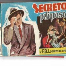 Tebeos: COLECCIÓN POLÍCIA INTERNACIONAL AÑO 1958 COLECCIÓN COMPLETA SON 4 TEBEOS ORIGINALES GESTIÓN EDITORIA. Lote 147913570